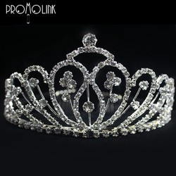fashion european girls princess with thorns diamond tiaras dental queen crown for kids