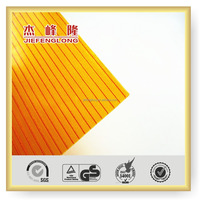 Roof Material hollow PC Sheet Building Materials Polycarbonate Panel