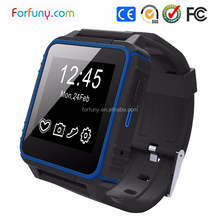 2015 new high waterproof dustproof shokeproof ip68 smart watch phone Mate For iphone 5/6 for Android samsung