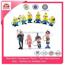 ICTI factory custom made plastic minions toys