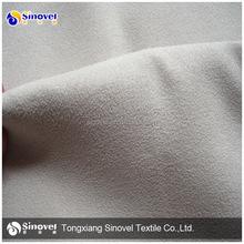 100% poliéster tecido de camurça sofá de tecido camurça sintética tecido para o sofá