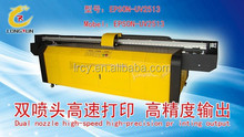 UV Flatbed Glass Printer Industrial used digital mechanical flatbed glass uv printer for sale in low quotation.