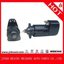 Bosch starter motor, weichai starter motor parts, auto starter for Styer