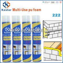 Spray polyurethane foam density