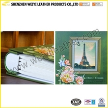 Promotional Gift Photo Album New Arrive Personal Leather Cover Custom Photo Album Sheets Resycled Paper Photo Album For Sales