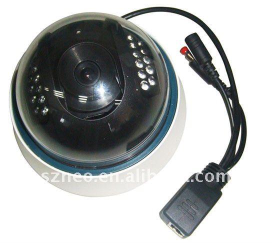 Camara ip inalambrica domo vigilancia interior 22 led mmu for Camara vigilancia inalambrica