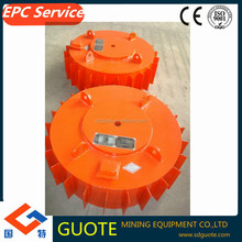 Series RCDB dry electric- magnetic iron separator with waste iron