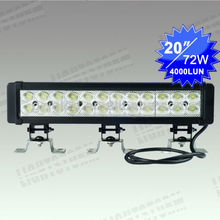 72W LED light stripes 4x4 offroad vehicles Jeep truck ship led lighting bar for boat suv 4WD