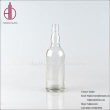 New design glass bottles for alcohol drink whiskey bottle 750ml for wholesales