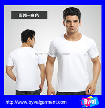 High quality cotton blank t shirts manufacturers china cheap men's t-shirt blank dry fit t-shirts wholesale
