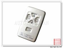 Ak007051 Auto à distance clé pour Toyota Previa 5 bouton carte à distance 433 Mhz
