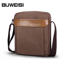 Men Messenger Cotton Bag Blank Canvas Bag Customized