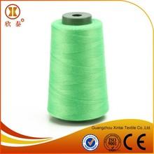Eco-friendly organic cotton thread for poly bag