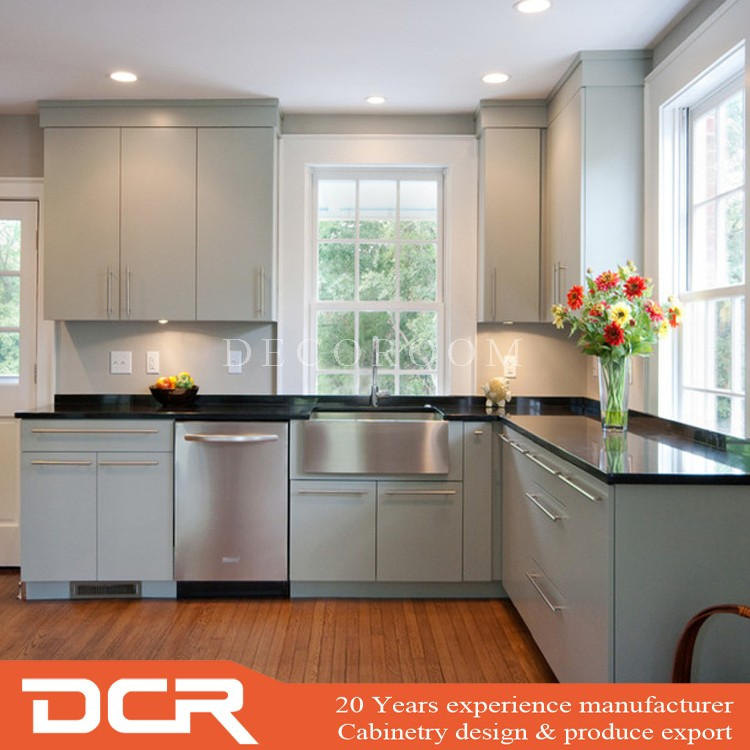 Moderne Küche Artikel a bis z Hochglanz Billige Flach Küchenschränke ...