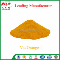Vat dye Golden Yellow RK/C.I. Vat Orange 1 cotton fabric dye