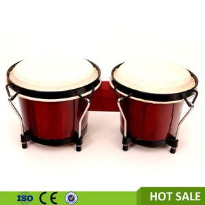 Trống đầu da dê âm nhạc, gỗ thủ công trống gỗ bongo trống