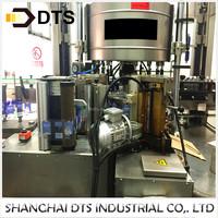 Automatic hot melt glue bottle labeling machine for Carbonated beverage production line