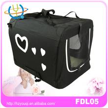 Soft Folding Kennel Car Travel Pet Dog Bag Carrier black