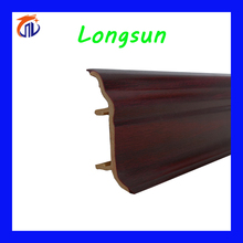 PVC cabinet edge skirting board baseboard trim