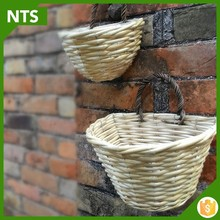 NTS Good Quality Half Round Wall Flower Pot from Direct Manufacturer