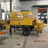 trailer pump for conveying concrete with reasonable price with PLC Controler advanced configuration