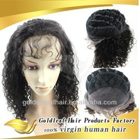 manufacturer selling 100% virgin human hair full lace wigs in stock Factory outlet price