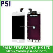 100% new and original phone 6 lcd with touch, lcd module white