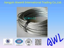 plastic reel packed 316 stainless steel wire rope