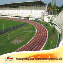 prefabricated synthetic rubber athletic running track surface for outdoor sport surface