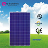 Factroy poly 36v 240w solar panel module