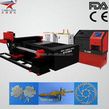 Fiber Laser Metal Cut in auto parts industry 1mm-20mm Steel Plate cutter