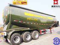 China Best-selling 3 axles cement tank trailer truck sale