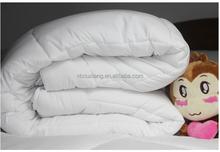 Nueva llegada 233 T tela de algodón del edredón de bateo para hotel 5 estrellas