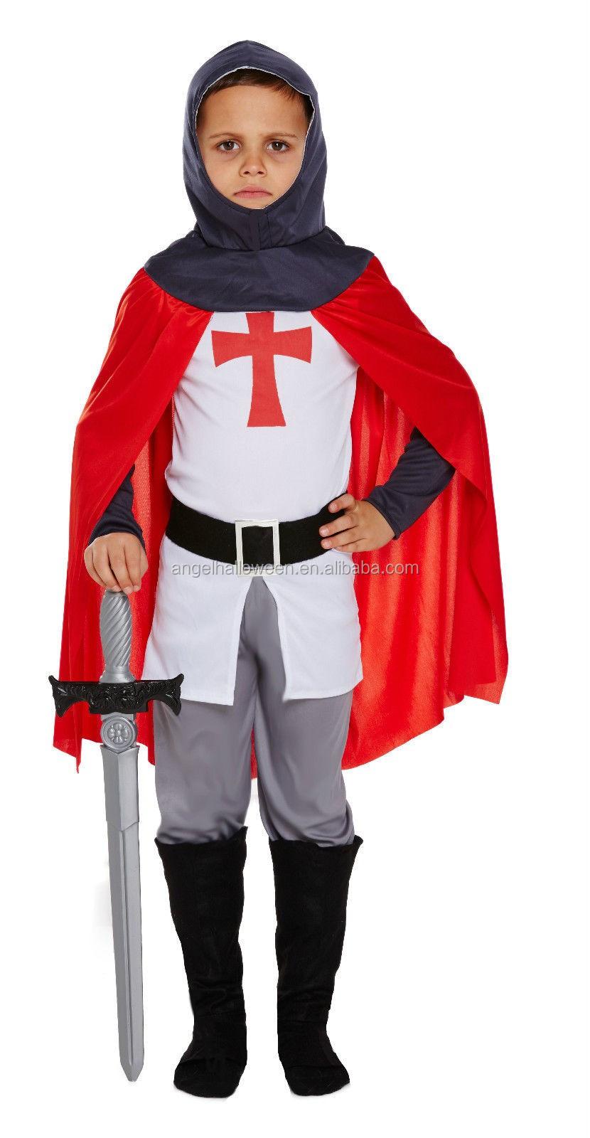 Как сшить костюм рыцаря для мальчика своими руками? 97