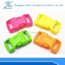 YIKAI side release buckles wholesale,adjustable plastic buckle,paracord buckle
