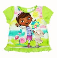 Doc McStuffins Tee t shirt for toddler kids children Boy Girl t shirt cartoon t-shirt