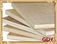 5cm width beech veneer poplar plywood for home decoration