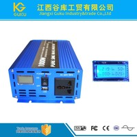 DC24V to AC220V 1000W pure sine wave Power Inverter Converter with leadwire support outdoor luminous inverter