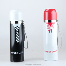 """2015 wedding party day gifts """"Mr. & Mrs.""""wedding stainless steel water bottle and thermos vacuum"""