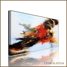 Handpainted hot sales modern abstract painting for home decortion