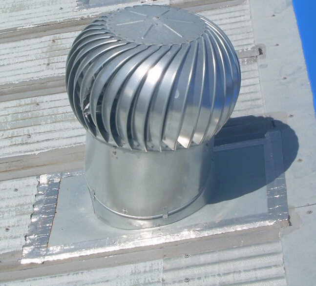 Rooftop Wind Turbines Ventilator : Best economical aluminum roof vents