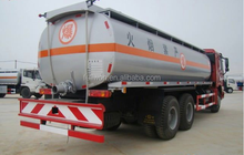 star product 6*4 oil tanker truck capacity
