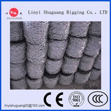 CHINA FACTORY FAMOUS GALVANIZED OR SELF COLOR STEEL LARGE LINK CHAIN(FAMOUS PRODUCTS MADE IN CHINA)