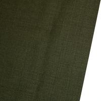 Green Men's Suit Fabrics 100 % Wool in Stock