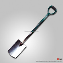 Stainless Steel Garden Digging Spade, Heavy Duty Shovel
