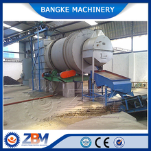 Industrial sand and coal rotary dryer