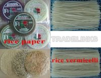Rice vermicelli, rice noodle,