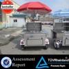 CEhot dog grill and bun warmer treet hot dog cart mobile hot dog cart for sa