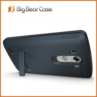 High class 3 in 1 mobile phone stand case for LG g3
