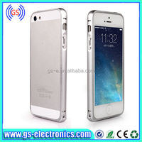 cell phone cases manufacturer 0.7mm ultra thin metal bumper